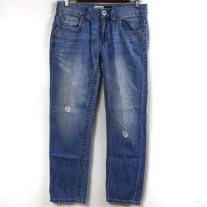 T469 Aeropostale Kylie Boyfriend Jeans Size 3/4